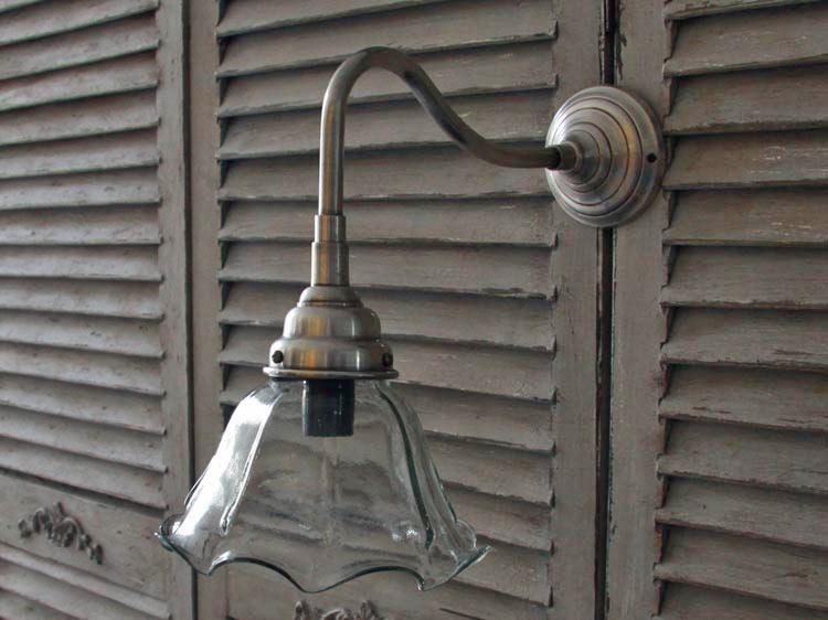 chic antique wandlampe wandleuchte lampe antik look shabby 18 cm neu ebay. Black Bedroom Furniture Sets. Home Design Ideas