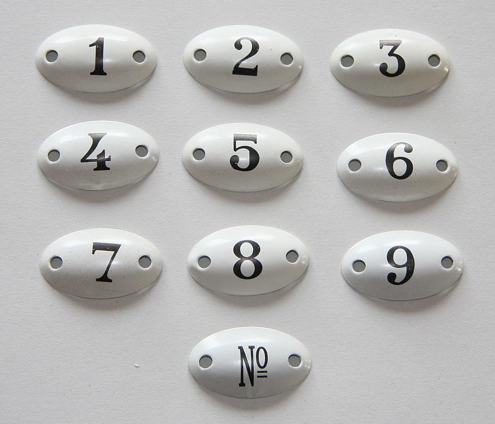 Zahlenschilder In Deutschland