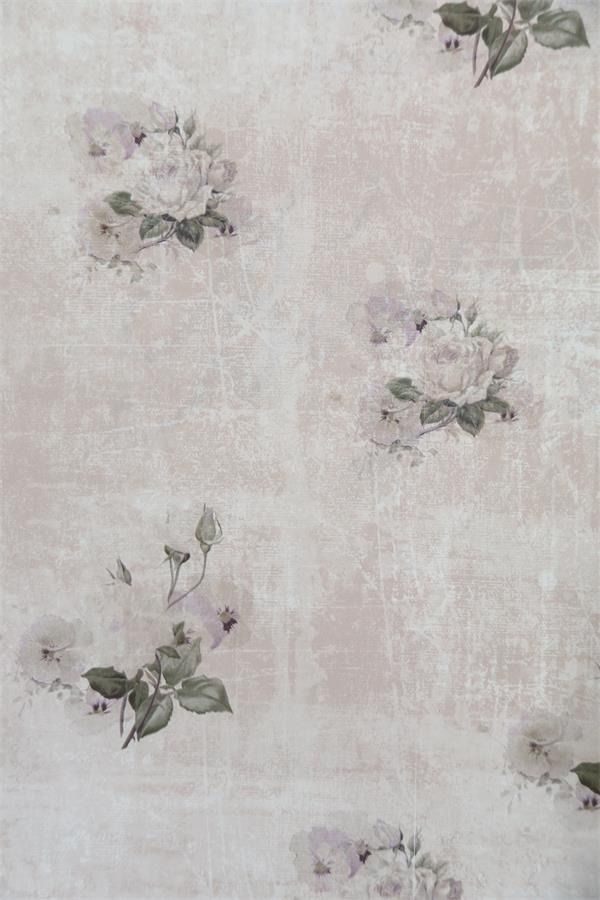 7 54 m vintage tapete v jeanne d arc living 10x0 53 m altrose mit rosen. Black Bedroom Furniture Sets. Home Design Ideas